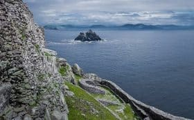 Little Skellig Seen From Skellig Michael Monastery
