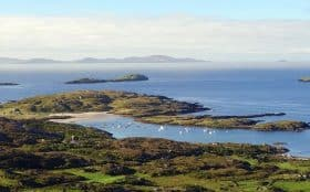 Ireland walking holidays Ring Of Kerry View. Joseph Gough