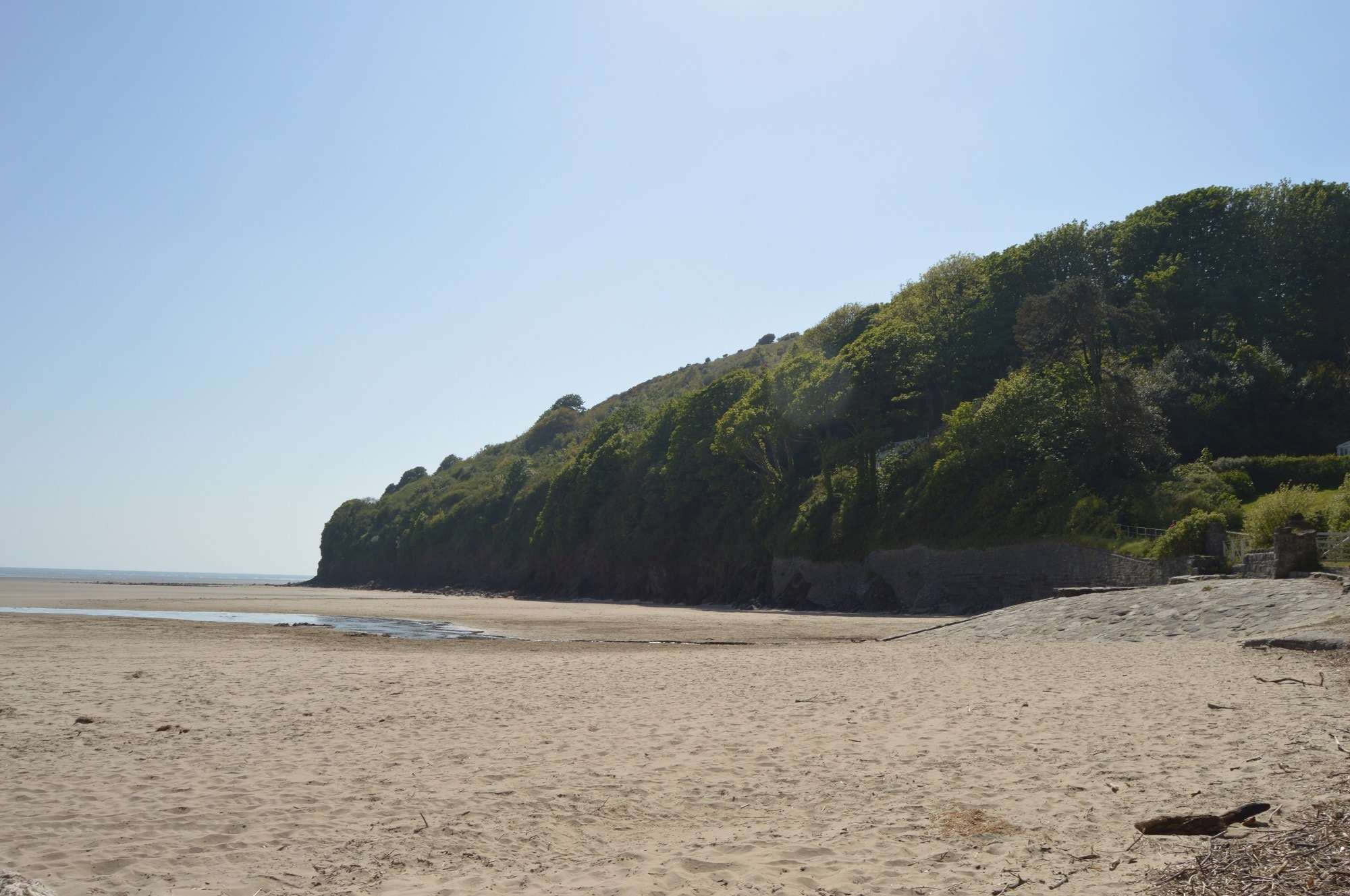 Scott's Bay, Llansteffan