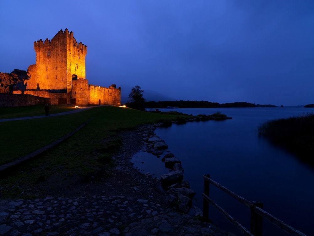 Ross Castle, Killarney walking holidays ireland