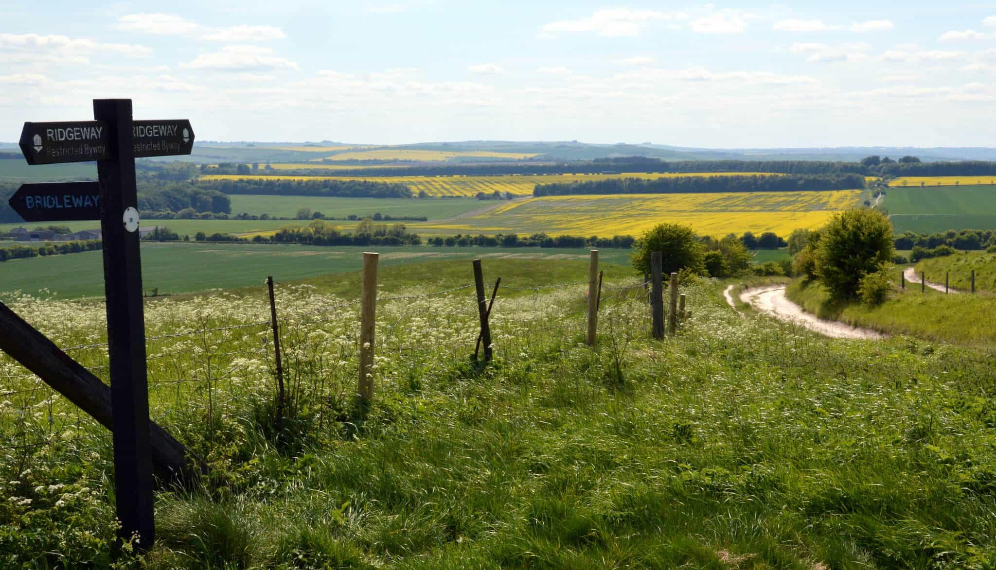 Hiking The Ridgeway