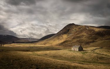 A Bothy in the Glen Shee Valley