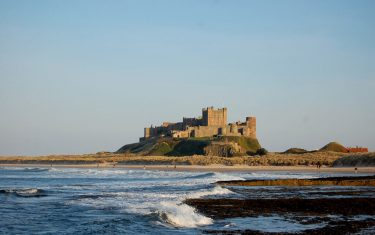 Bamburgh Castle, Walking St Oswald's Way