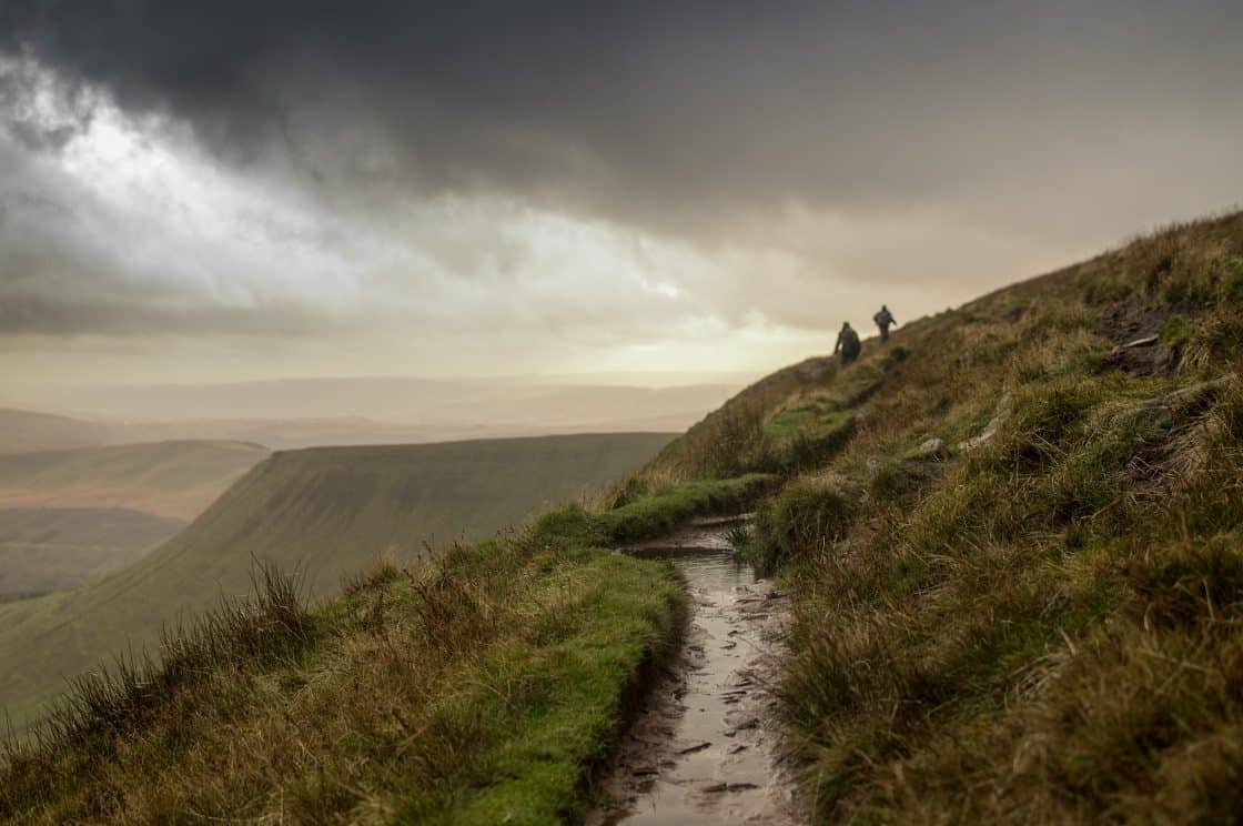 Becon Beacons Rainy Weather