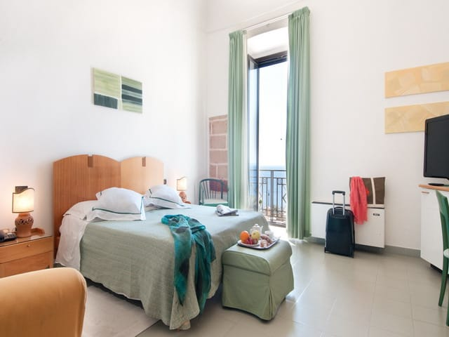 Bedroom in Puglia Accommodation