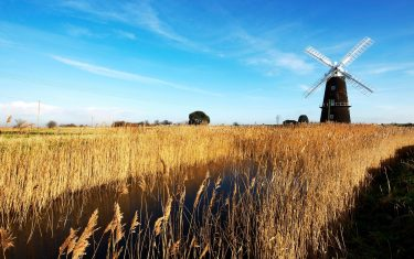 Berney Arms Mill, Norfolk Coast Path Walking Holidays