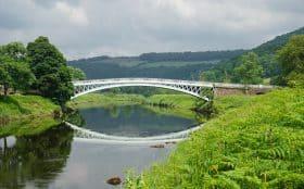 Bigsweir Bridge on the Offa's Dyke Path