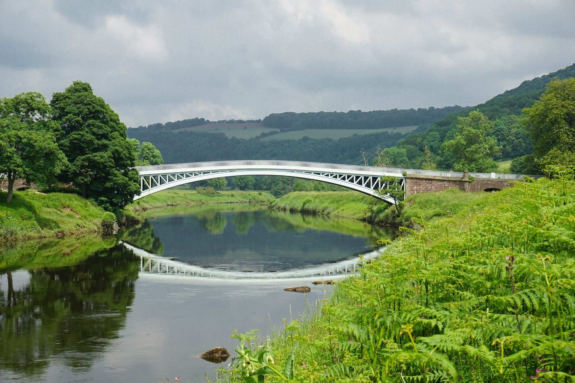 Bigsweir Bridge on the Offa's Dyke Path