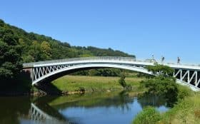 Bigsweir Bridge Walkers Wye Valley Walk