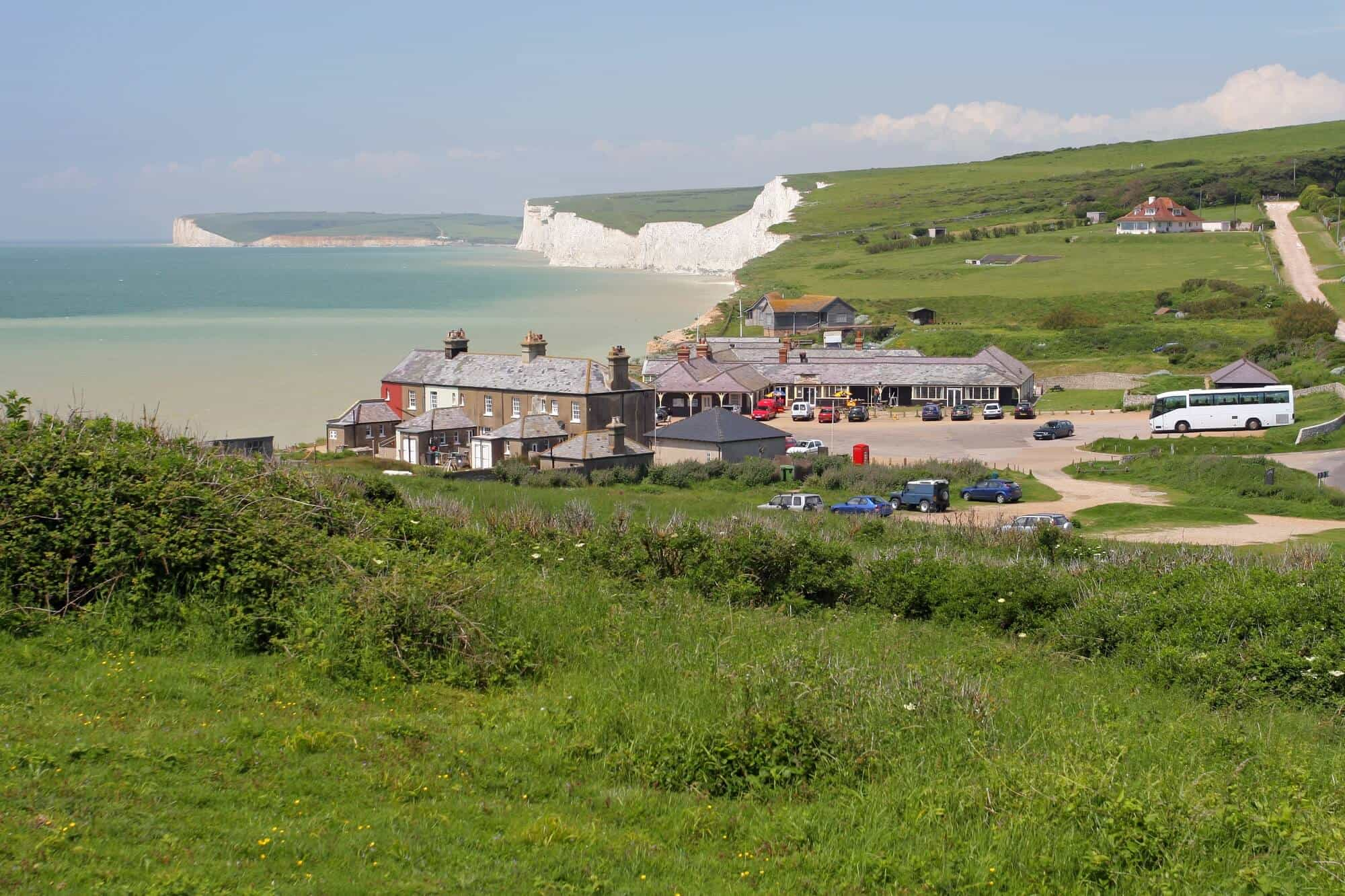 Birling Gap on the South Downs Way