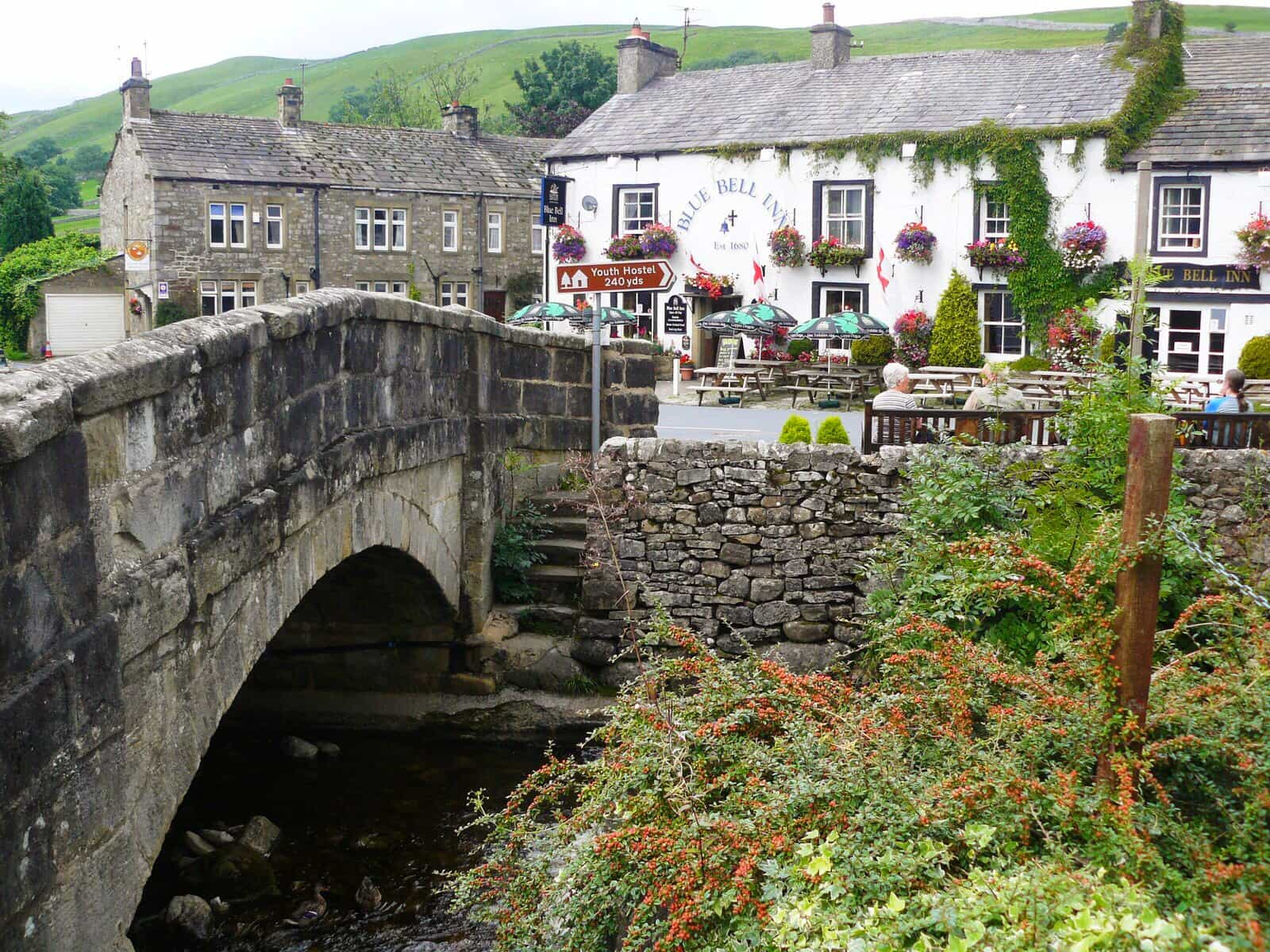 Blue Bell Inn, Kettlewell, The Dales Way