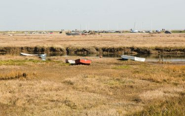 Walking holidays in Norfolk, Blakeney Harbour