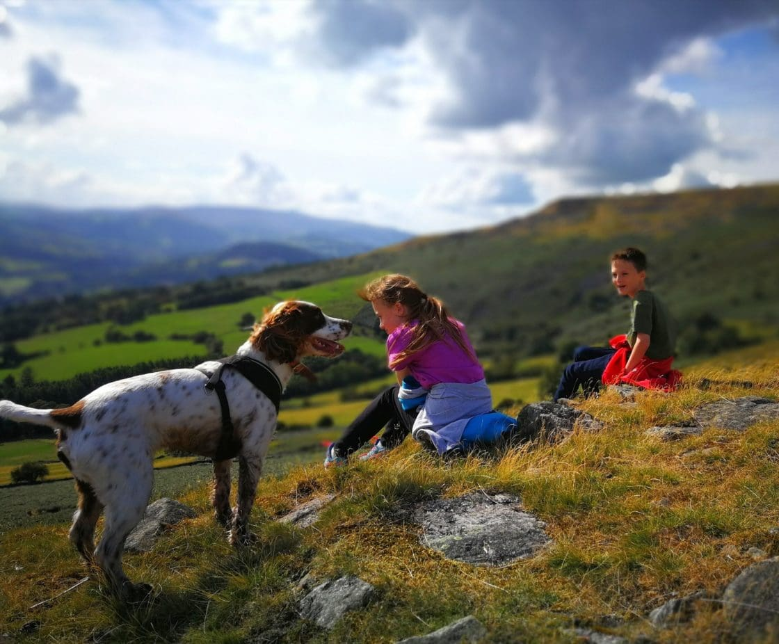 Brecon Beacons walking with kids