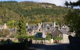 Callander Town, Trossachs National Park
