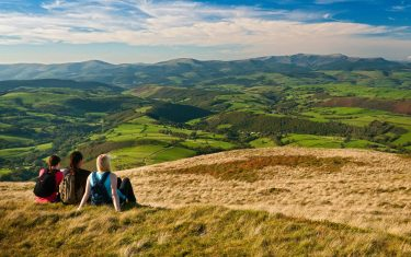 Cambrian Mountains, on a glyndwr's way walking holiday