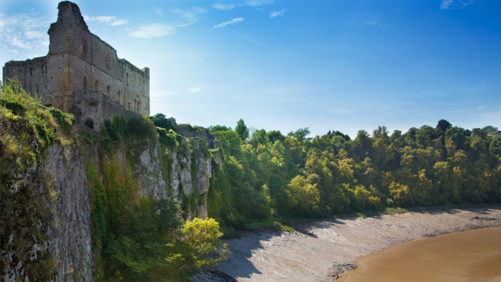 Chepstow Castle on Gilpin's Wye Tour
