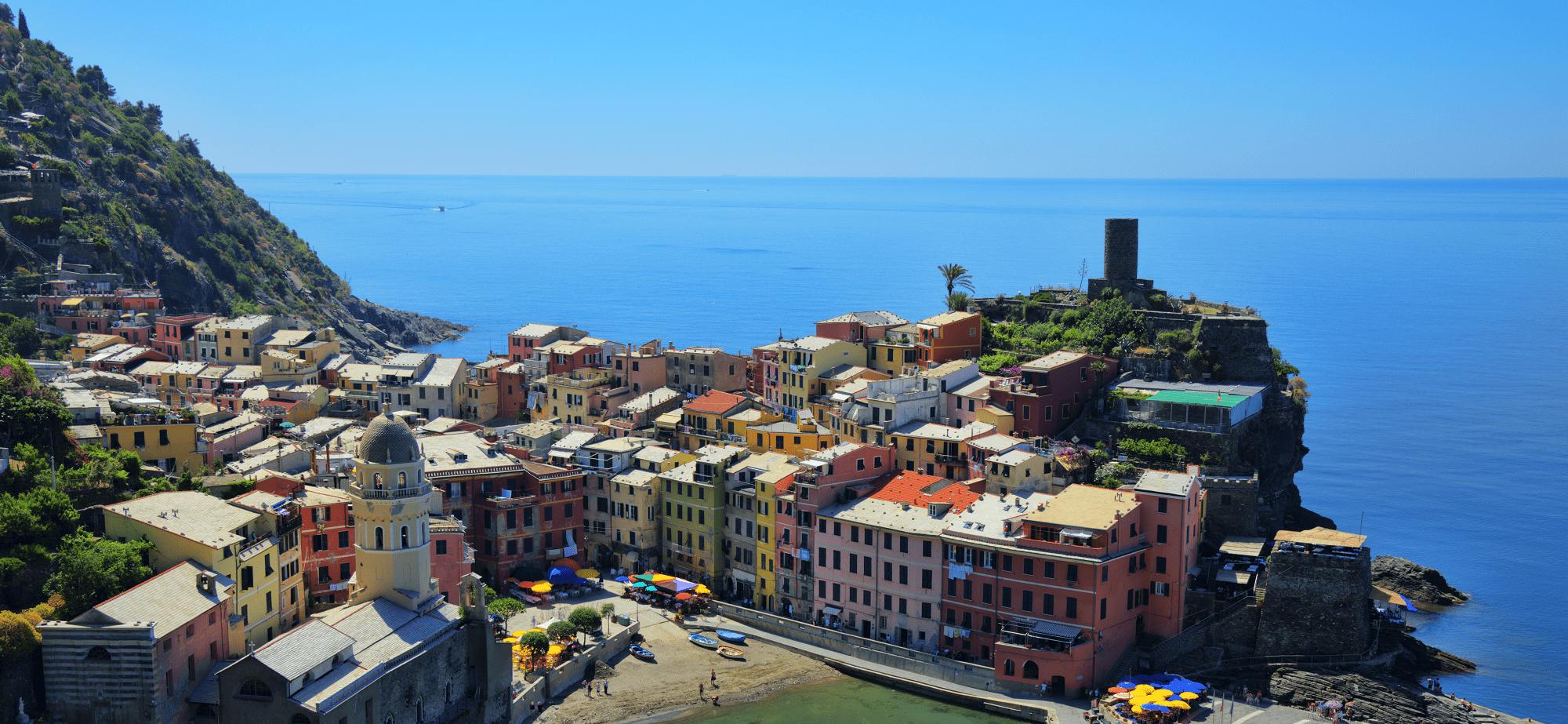 Cinque Terre town of Vernazza