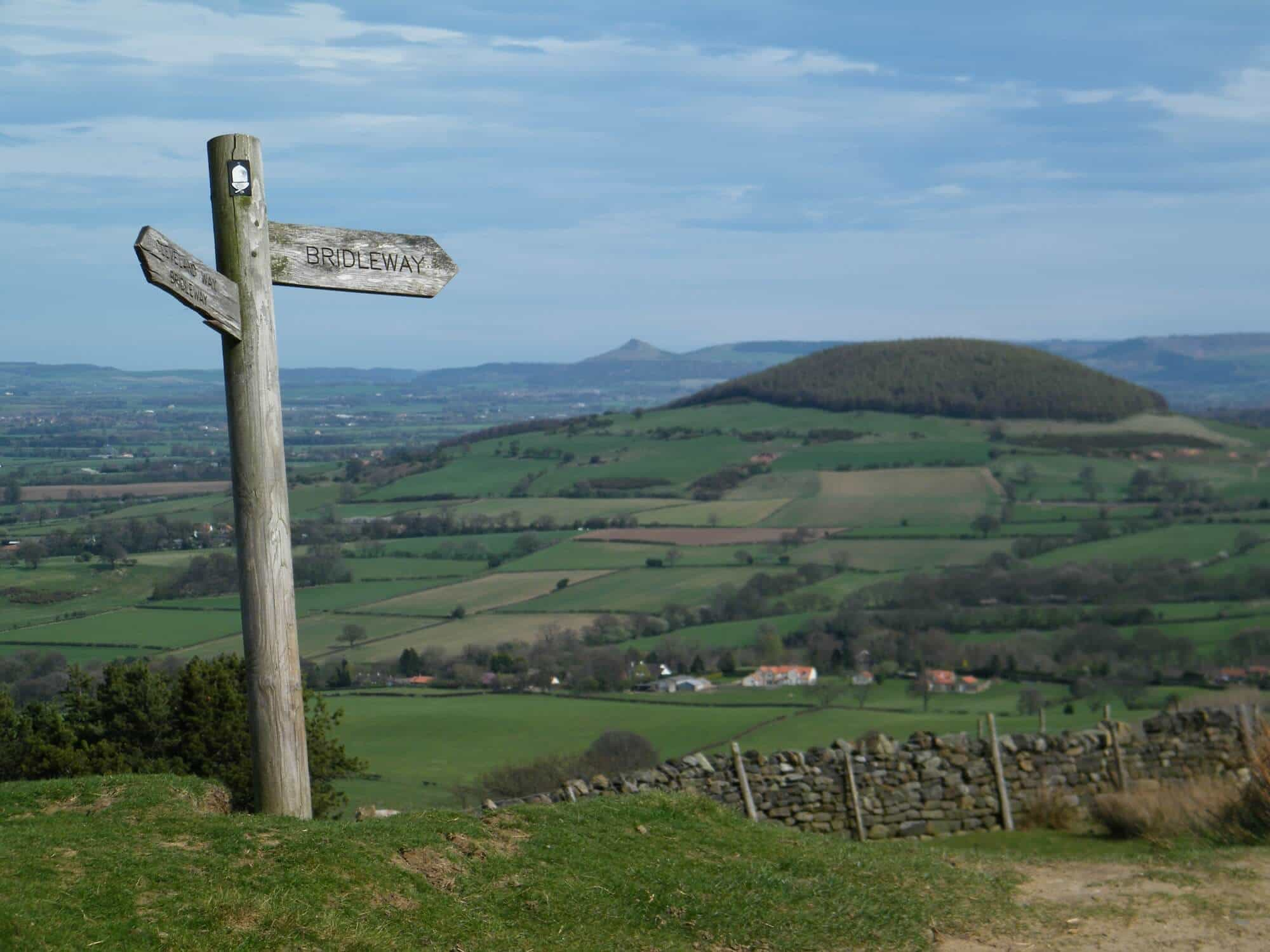 Cleveland Way Walking Holidays, Hills from Scarth Nick