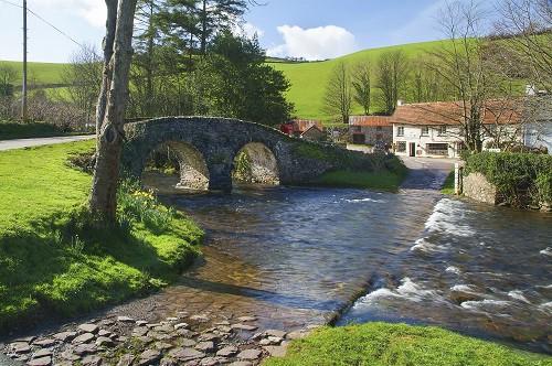 Village on Exmoor