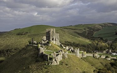 Corfe Castle, Jurassic Coast walking holiday