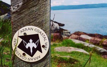 Corrie to Lochranza
