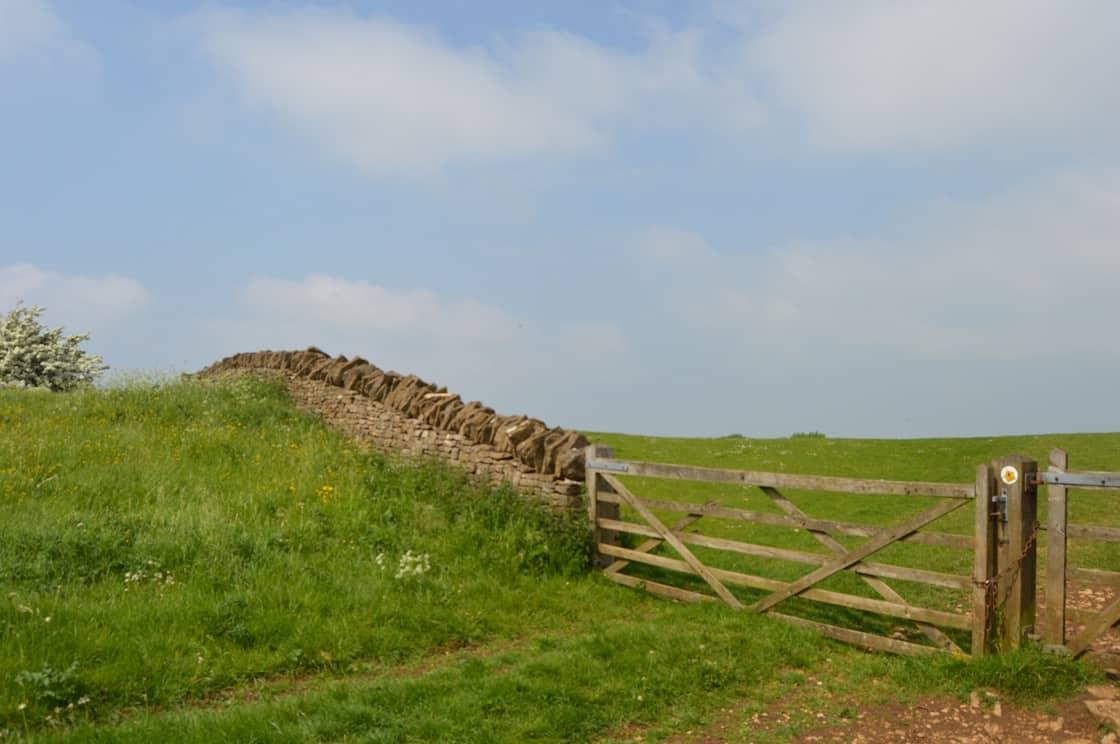 Cotswold Way Waymarker