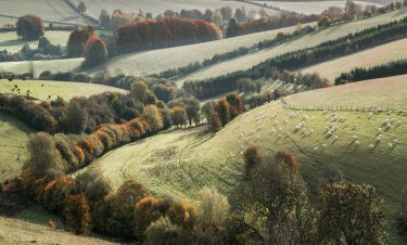 Cotswolds Landscape in Autumn