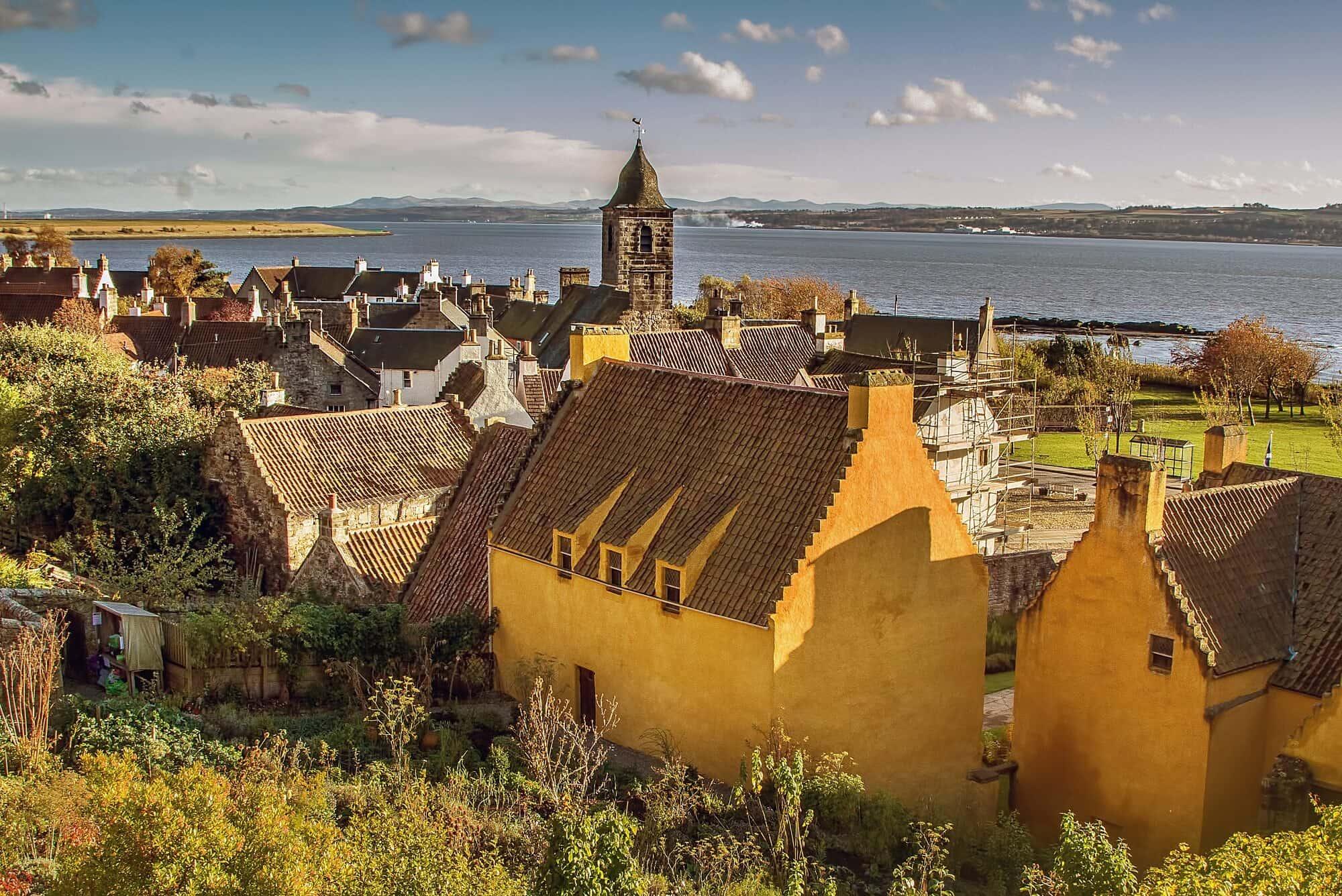 Culross, Fife coast Path