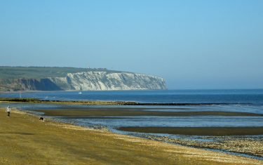 Culver Cliff from Sandown, Isle of Wight Coast Path