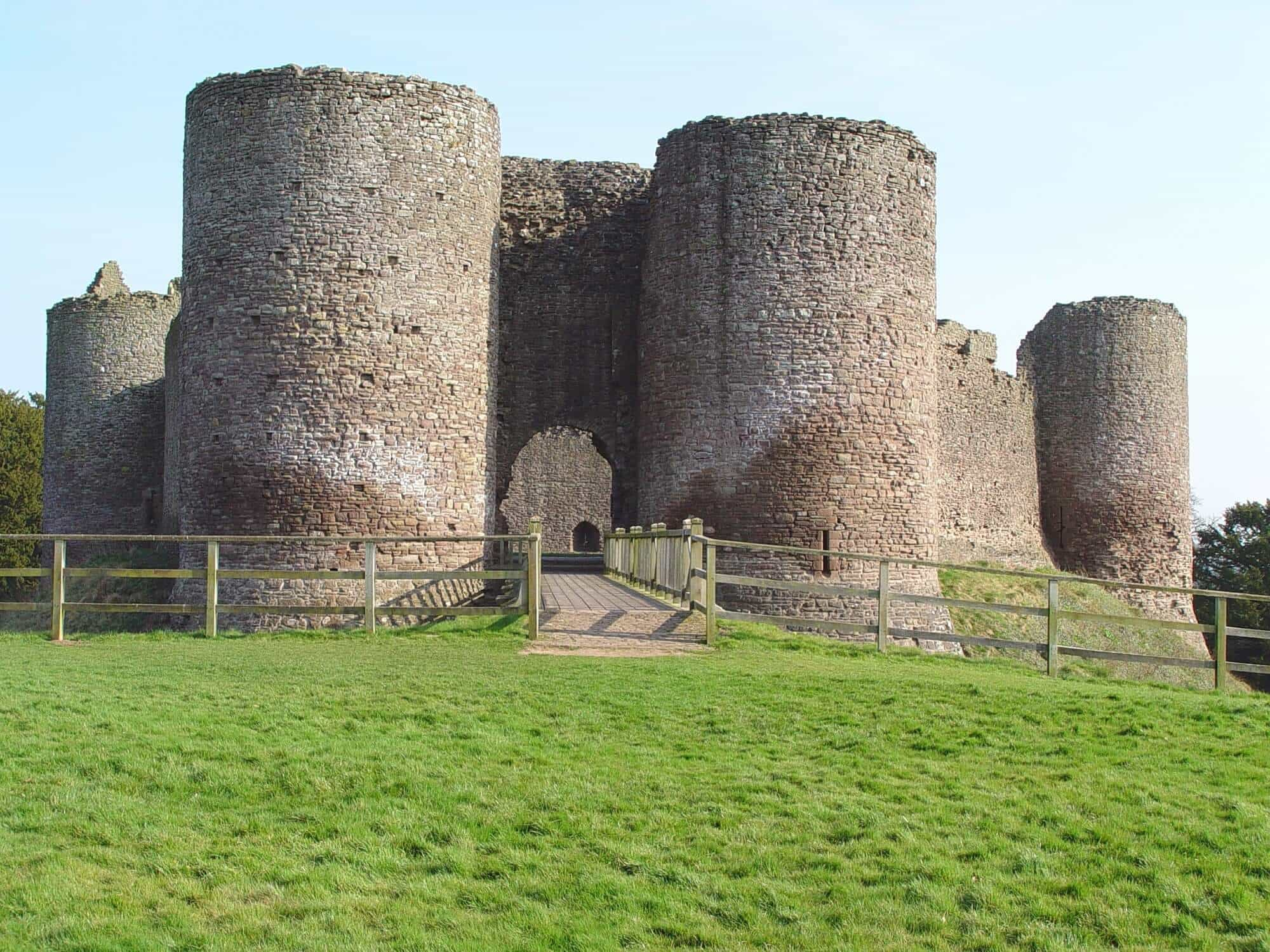 Castles on the Offa's Dyke Path
