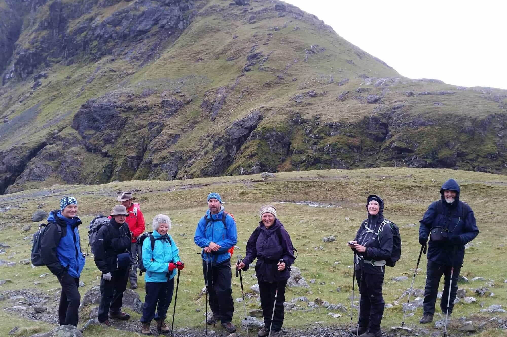 Walking on the Hebrides