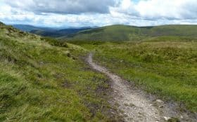 Descent to Glen Ardle