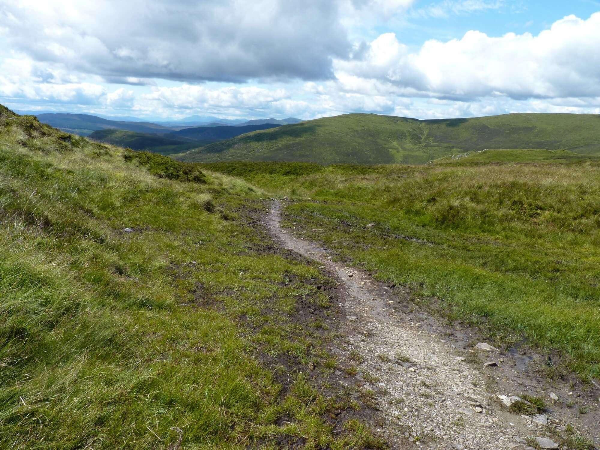 Descent to Glen Ardle