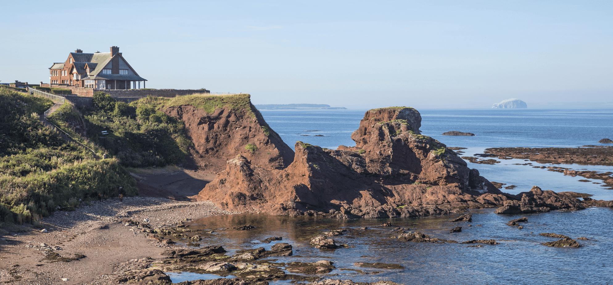 Dunbar Coastline East Lothian