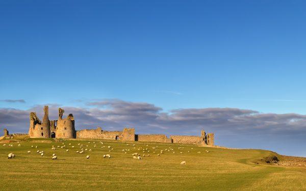 Dunstanburgh Castle Featured 100 walks Britain Blog