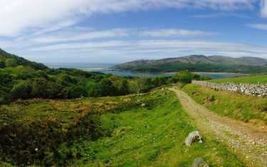 View over the Meirionnydd Coastal Path