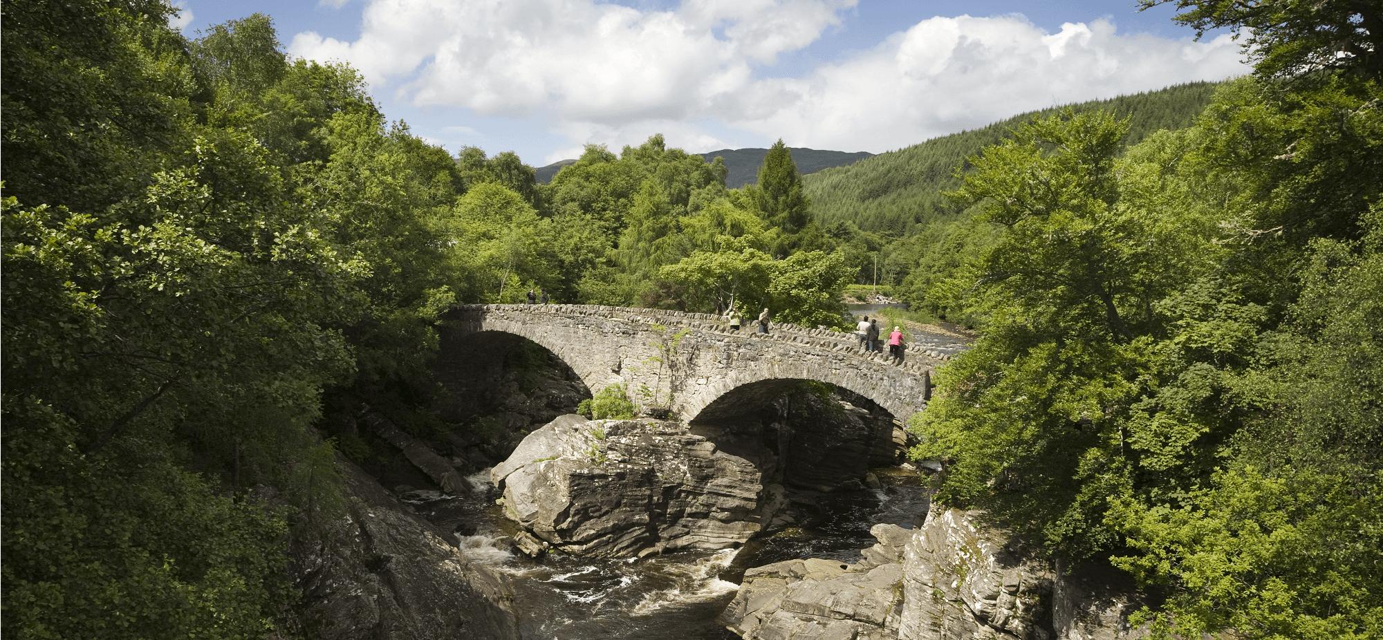 Telford Bridge on Walking holidays in Scotland