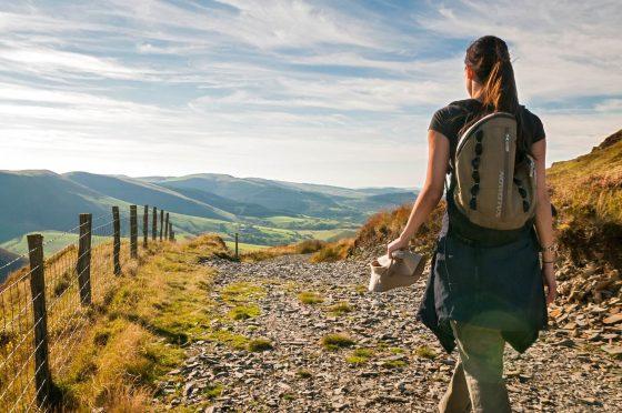 Foel Fadian, on the Glyndŵr's Way Walking Holiday