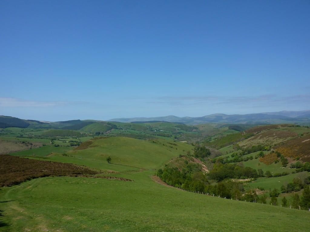 Foel Fadian on the Glyndŵr's Way