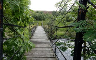 Footbridge over River Isla, Cateran Trail