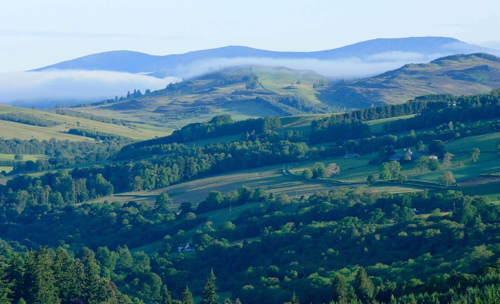 Valley and glens Glenshee