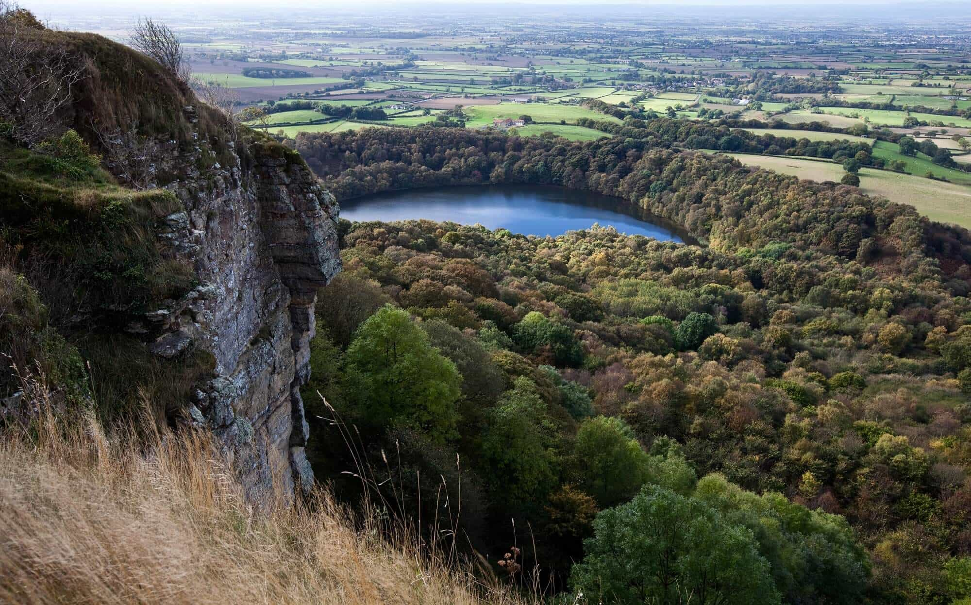 Cleveland Way Walking Holidays, Gormire Lake, Sutton Bank