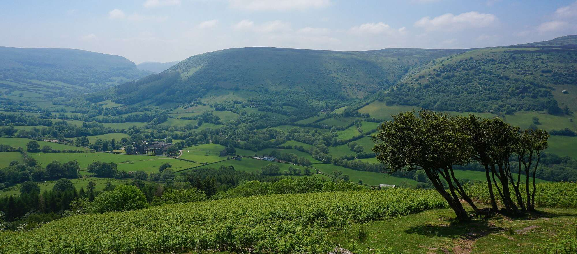 Hatterall Hill on the Offas Dyke Path