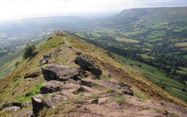 Hatterrakk Ridge on the Offa's Dyke Path