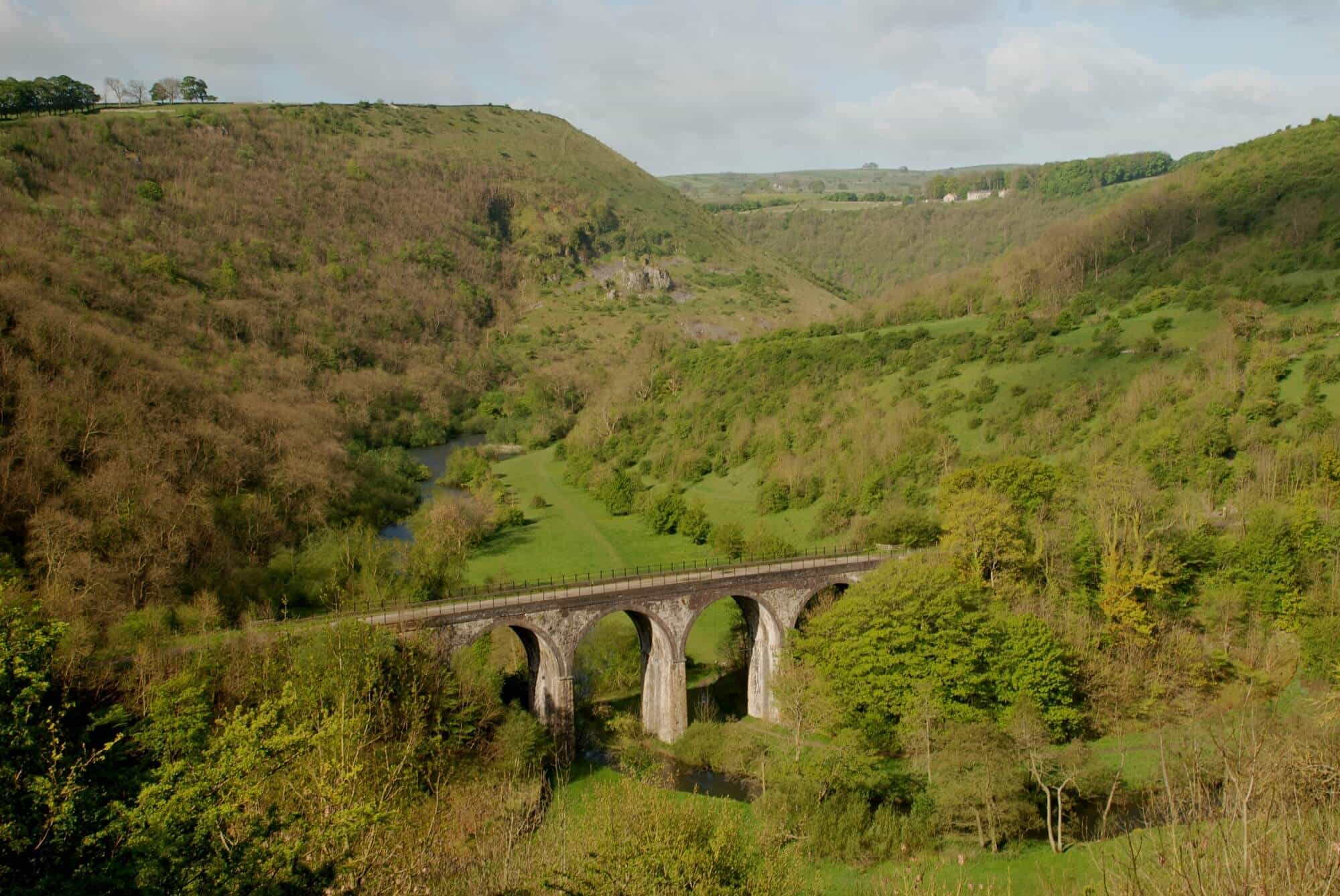 Headstone viaduct Monsole Dales Way