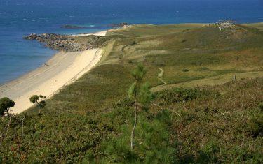 Walks on channel isles, Guernsey