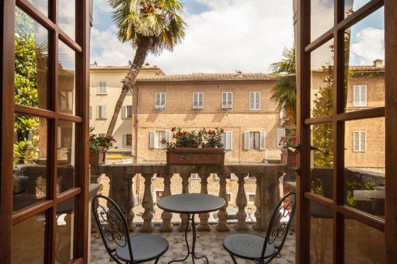 Hotel Balcony Tuscany