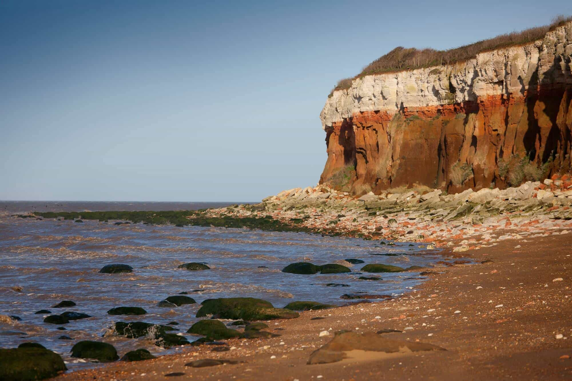 Hiking Hunstanton Cliffs