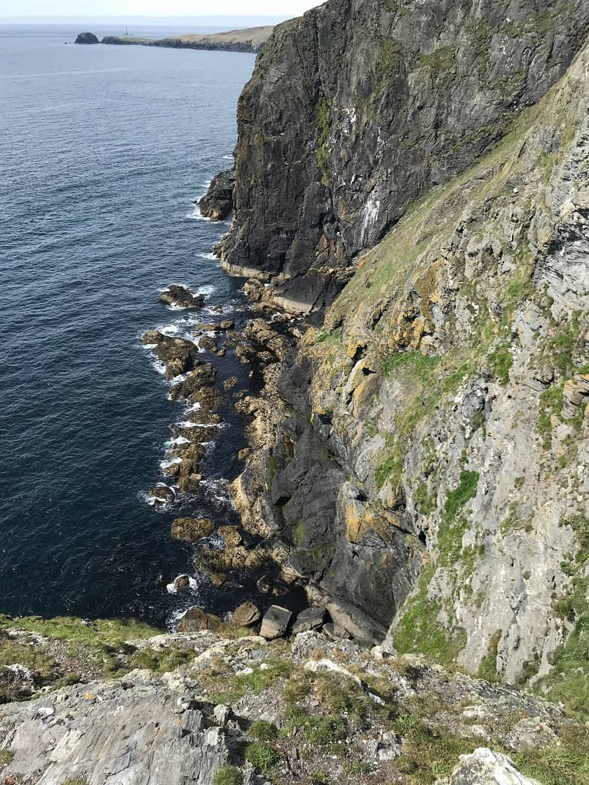 Southern Section Stacks at Black Head