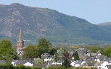 Cumbrian town of Keswick